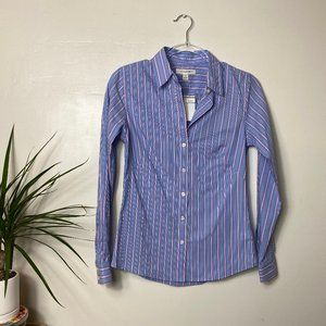 NWT Banana Republic Non-Iron Fitted Shirt